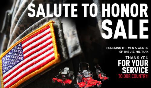 Salute To Honor