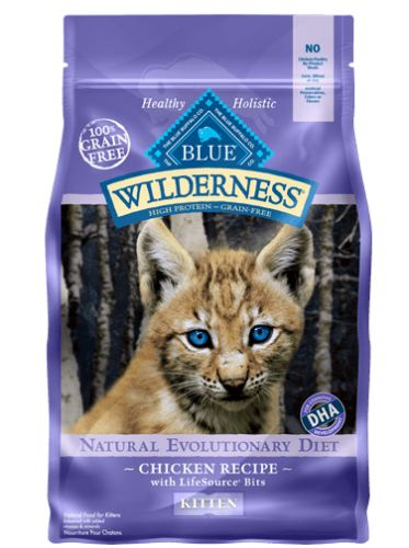 Blue Wilderness® Chicken Recipe for Kittens