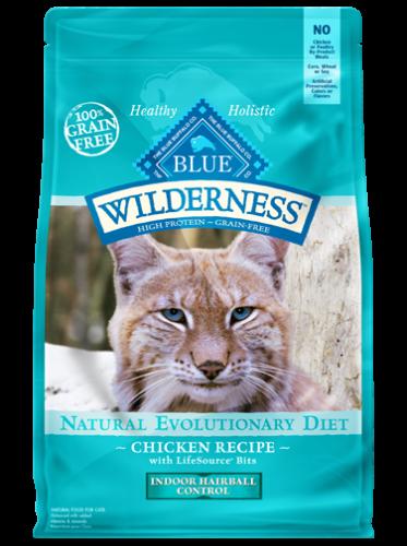 Blue Wilderness® Indoor Hairball Control Chicken Recipe