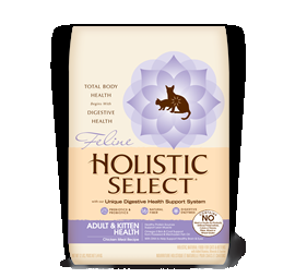 Holistic Select Adult & Kitten Health Chicken Meal Recipe