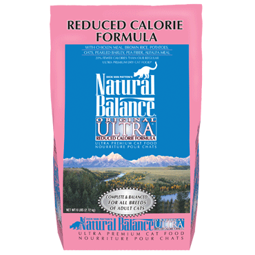 Natural Balance Reduced Calorie Cat 15 lb.