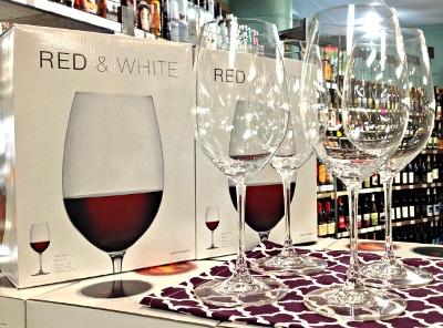 Riedel Crystal Wine Glasses