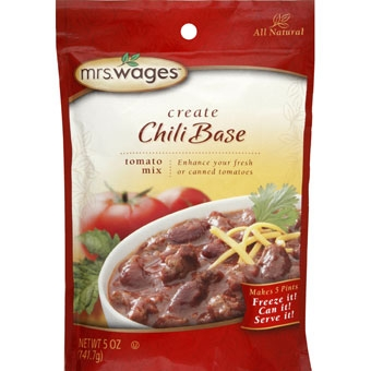 Mrs. Wages Chili Seasoning Tomato Mix 5 oz.