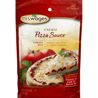 Mrs. Wages Pizza Sauce Tomato Mix 5 oz.