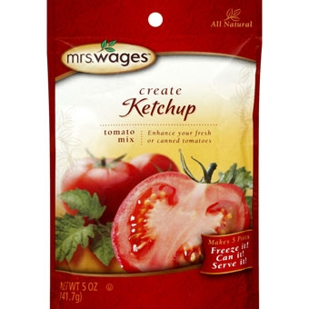 Mrs. Wages Ketchup Tomato Mix 5 oz.