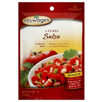Mrs. Wages Salsa Tomato Mix 4 oz.