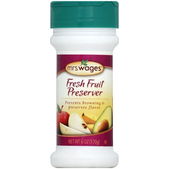 Mrs. Wages Fresh Fruit Preserver 6oz.