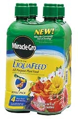 Miracle-Gro Liquafeed All Purpose Refill 4PK