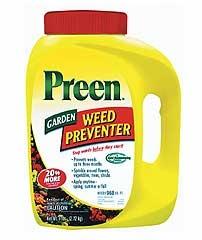 Preen Garden Weed Preventer 6#