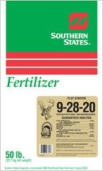 Southern States 9-28-20 Plot Starter 50#