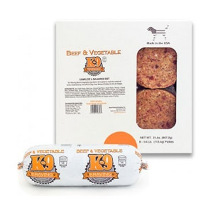 Beef & Vegetable Frozen Raw Dog Food