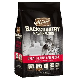 Backcountry Raw Infused Great Plains Red Recipe Dry Dog Food