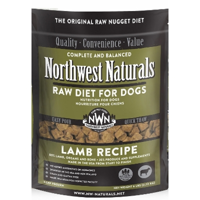 NW Naturals Raw Diet Lamb Dog Food