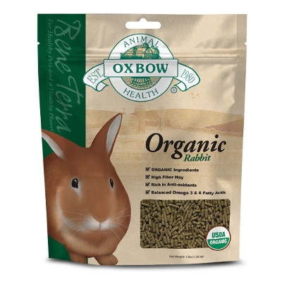 Oxbow Organic Rabbit 6/3 lbs