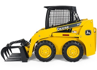 Skid Steer Attachment: Grapple Bucket