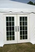French Doors for tent