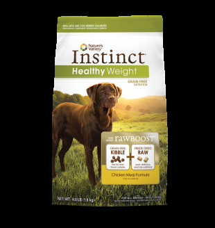 Nature's Variety Canine Instinct Healthy Weight Chicken Meal Diet 21.8lb