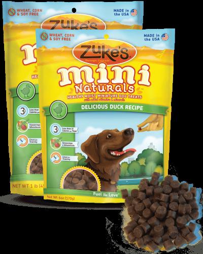 Zuke's Mini Naturals Delicious Duck 6oz