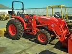 Tractor, Kubota, L4600, 6' Box Blade