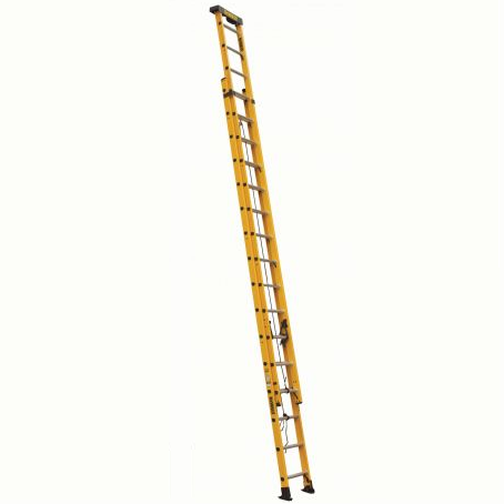 32 ft Fiberglass Multi-section Extension Ladders