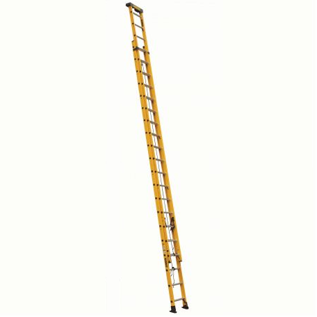 40 ft Fiberglass Multi-section Extension Ladders