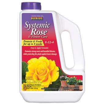 Bonide Systemic Rose & Flower Granular 5#