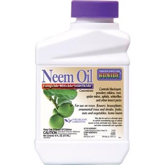 Bonide Neem Oil Conc 16 oz.