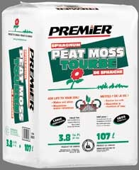 Premier Peat Moss 3.8 Cu Ft.