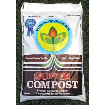 Blue Ridge Organics Super Compost 32QT.