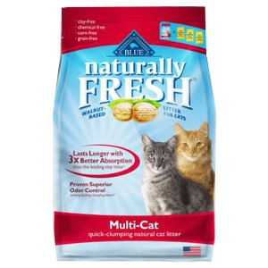 Blue Buffalo Naturally Fresh Multi Cat Litter