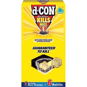 d-CON® Refillable Corner Fit Bait Stations