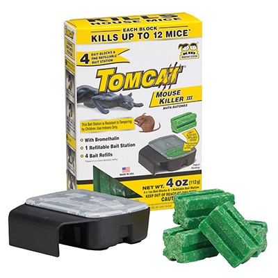 Tomcat Disposable Bait Station with 4 Refills