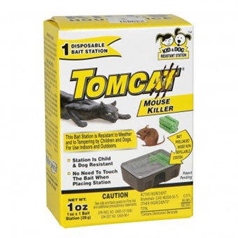 Tomcat Disposable Bait Station with Bait 1PK