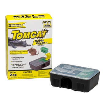 Tomcat Disposable Bait Station with 2 Refills