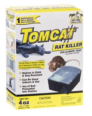 Tomcat Rat Killer Disposable Bait Station