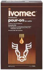 Ivomec Pour-On 2.5 Liter