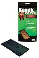 Ramik Glue Traps for Rats, Mice & Snakes 2PK