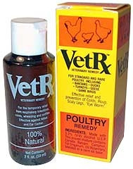 VetRx Vet Remedy for Poultry 2 oz.