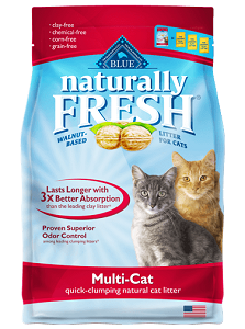 BLUE Naturally Fresh®Multi-Cat Quick-Clumping Formula