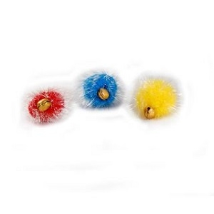 Krislin Cat Toy Glitter Ball