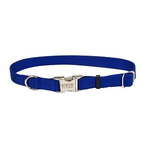 Coastal® Adjustable Nylon Dog Collar with Titan® Metal Buckle