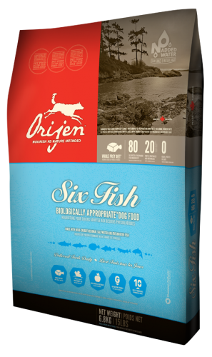 Orijen Six Fish Dog Food 28.6lb