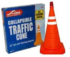 S-Line Collapsible Traffic Cone 22