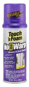 Touch 'n Foam No Warp