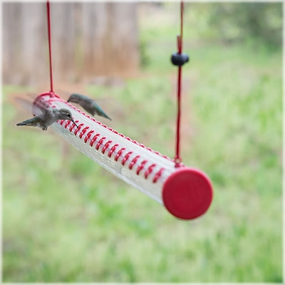 Perky Pet Hummerbar Hummingbird Feeder, 4 ft.