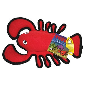 Tuffy® Larry Lobster Sea Creature Dog Toy
