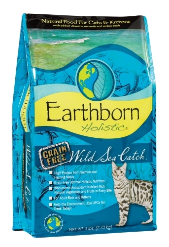 Earthborn Holistic Wild Sea Catch Grain Free Dry Cat Food