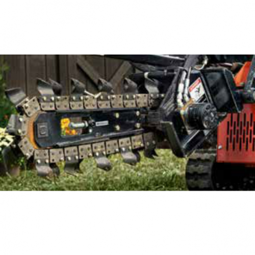 Trencher Blade Skid Steer Attachment
