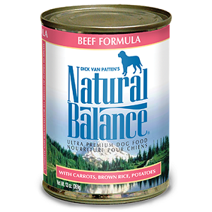 Natural Balance Ultra Premium Beef Canned Dog Formula