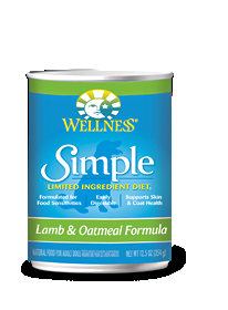 Wellness Simple Lamb & Oatmeal Formula